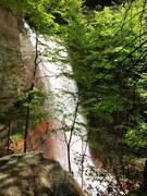 Rock Climbing Photo: Waterfall at Gauley Crag