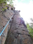 Rock Climbing Photo: Angela on TR