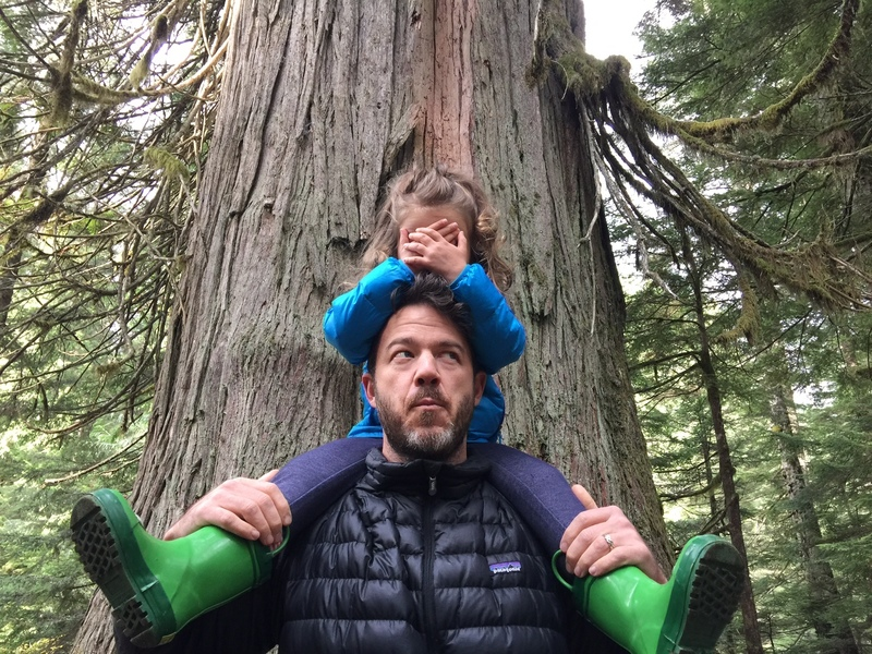 Getting the family out for a hike at the Snoqualmie Middle Fork - killer!!