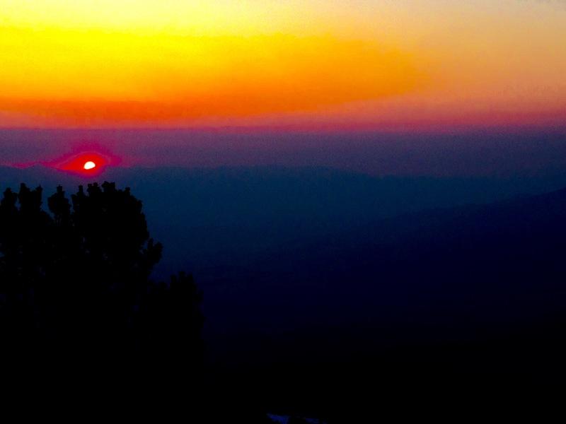 Smokey East Side Sun Rise!!