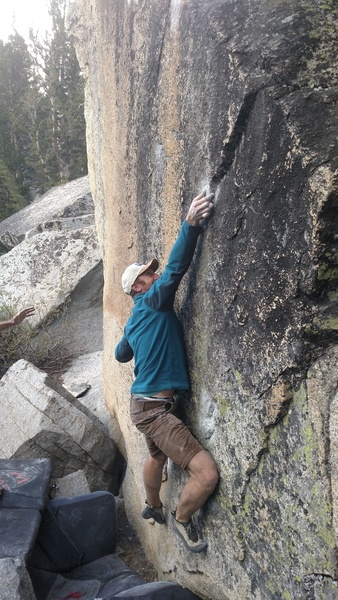 Rock Climbing Photo: (The Deciever V7/8)