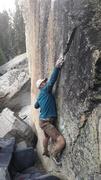 Rock Climbing Photo: (The Deciever V7/8)