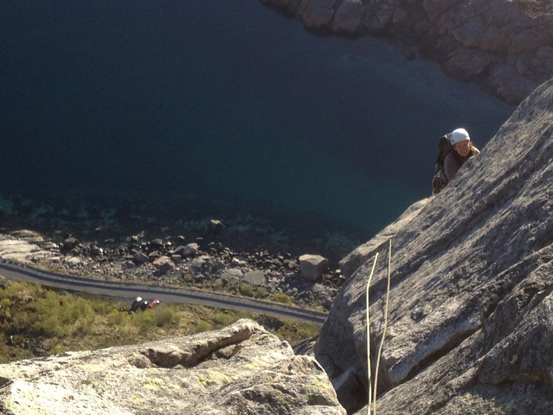 Rock Climbing Photo: Vestpillaren, Presten in Lofoten