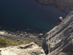 Rock Climbing Photo: Vestpillaren, Presten in Lofoten