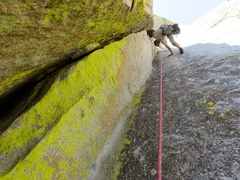 Rock Climbing Photo: The awesome stemming corner on the second half of ...