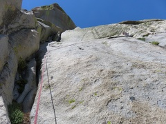 Rock Climbing Photo: This is where the previous day we had exited off l...