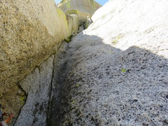 Rock Climbing Photo: Unfortunately, the corner is a bit unprotected for...