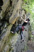 Rock Climbing Photo: Getting ready to clip the anchors on Angry White M...