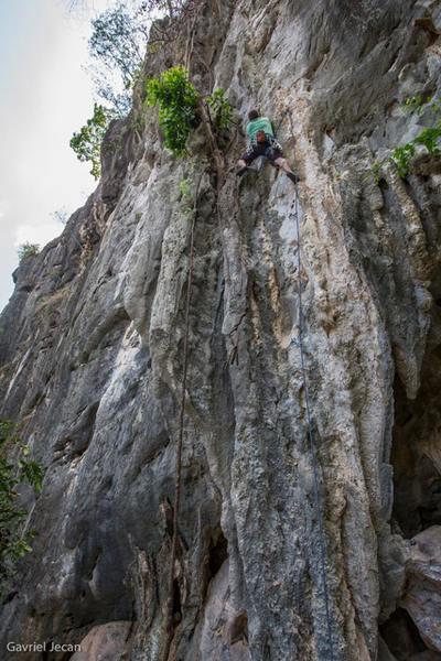 Rock Climbing Photo: Ooh La La, Covert Crag