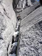 Rock Climbing Photo: On the Becky-Chouinard . . .