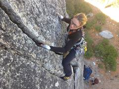 Rock Climbing Photo: My favorite climb ever in Tahoe