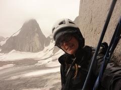 Rock Climbing Photo: McTech Arete view when raining