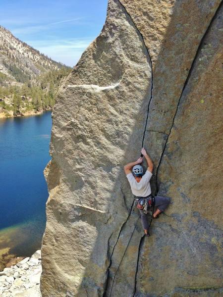 Rock Climbing Photo: Photo by Simon Koytiger.