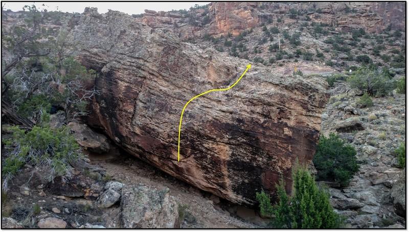 Rock Climbing Photo: Mos Woke.