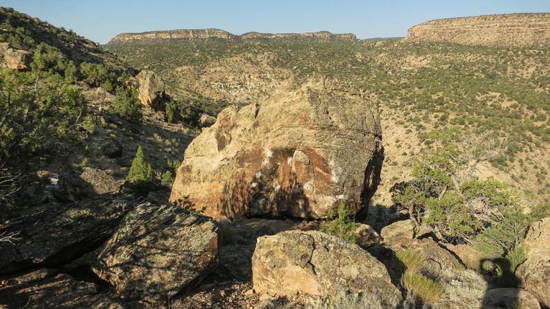 Rock Climbing Photo: Precipice Boulder.
