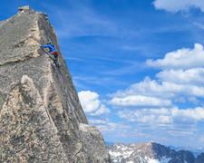 Rock Climbing Photo: Summit pitch -- phenomenal climb and worth the app...