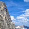 Summit pitch -- phenomenal climb and worth the approach