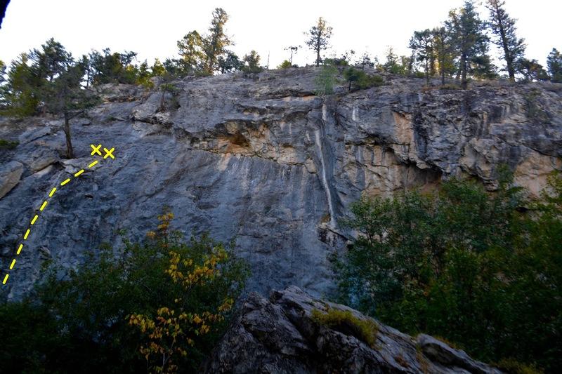 Rock Climbing Photo: Crack That Smells Nice (5.9)