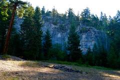 Rock Climbing Photo: Esler Bluffs