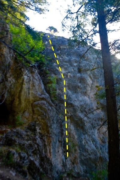Rock Climbing Photo: Flight School