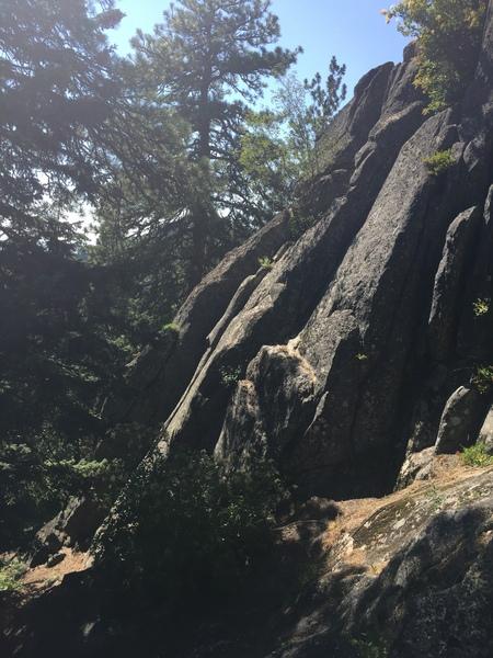 Nemisis cliff left