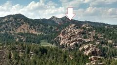 Rock Climbing Photo: Spelunk Spire from Upper Devil's Playground.