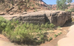 Rock Climbing Photo: The whole Dam Wall. The dam is to the right, and t...