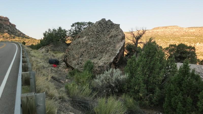Rock Climbing Photo: Aurora Rock.