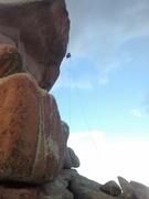 Rock Climbing Photo: Potato Chip rappel!