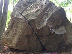 Rock Climbing Photo: Classic Crack -  no topo needed for this one!