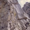 This route went up the right buttress.