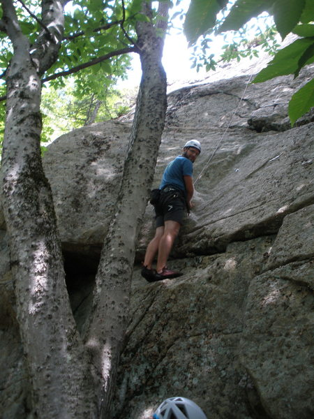 "Rock Climbing Photo: Josh at Bolt#1 of ""Good for the Soul"""