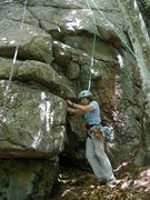 Rock Climbing Photo: Sheila at the START, CMC-Crack ( & Clean Yer Act U...