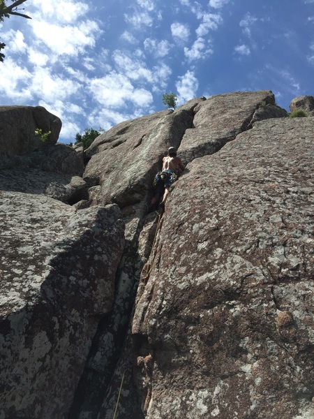 Rock Climbing Photo: Yee Haw !!