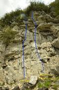 Rock Climbing Photo: Air and Briefcase