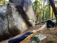 Rock Climbing Photo: A nice spot.