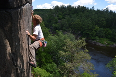 Rock Climbing Photo: Such a gorgeous line. Had so much fun leading it t...