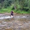 High creek in early July!