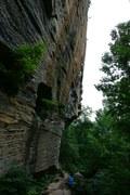 Rock Climbing Photo: Banshee