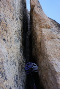 Rock Climbing Photo: A #5 is pretty tipped out on pitch 3. I suggest a ...