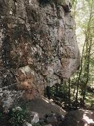 Rock Climbing Photo: The Lichen Me, Lichen You wall.