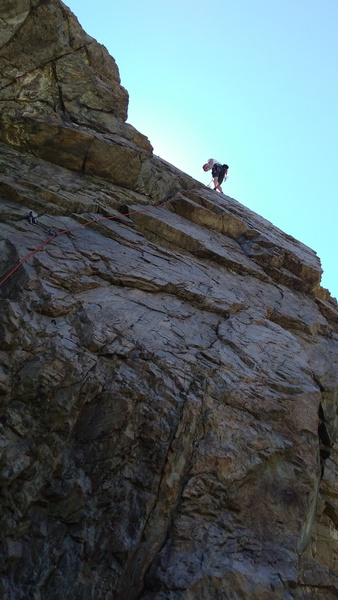 Rock Climbing Photo: Intruder Wall - unknown 5.8