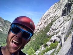Rock Climbing Photo: Getting some, Bushwack Crack 5.8