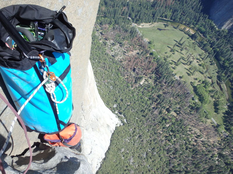 Rock Climbing Photo: feeling it.