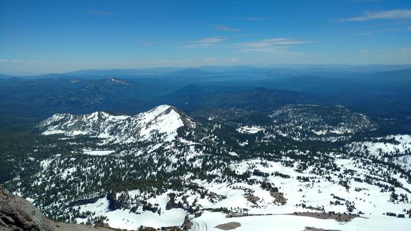 Rock Climbing Photo: Summit view looking southeast