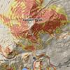 Slope angle avy risk map of Lassen.
