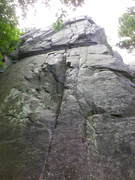 "Rock Climbing Photo: Straight-on view of ""North Country"""