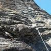 Long rope run on follow.