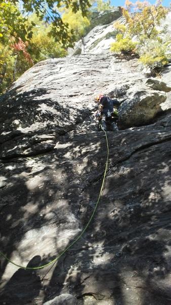 Rock Climbing Photo: Start up.