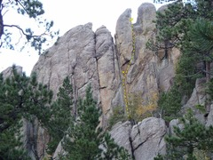 Rock Climbing Photo: Spunky Monkey